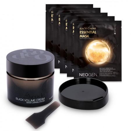 Code9 Black Volume Cream & Black Caviar Mask