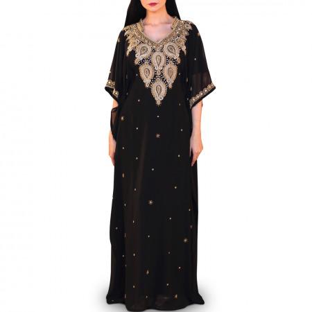 Afrah Black Jalabiya