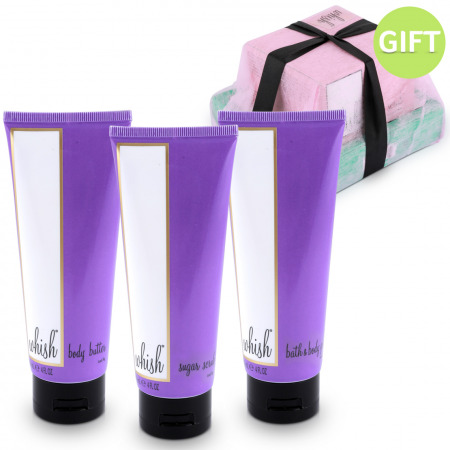 Deluxe Holiday Set - Purple & Gift