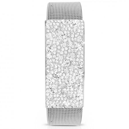 Sparkling Silver Bangle