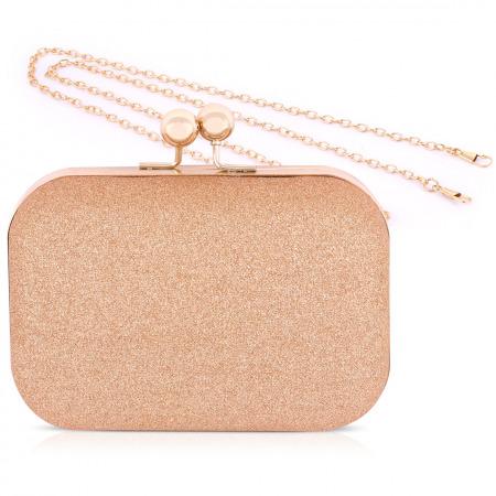 حقيبة سهرة ذهبية