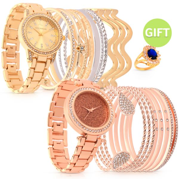 Rocawear Blush Set Of 2 Timepieces Gift Citrusstv
