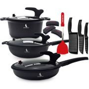 Black Knight Low Pressure Cookware Set