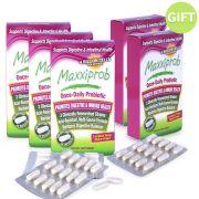 Maxxiprob Probiotics - Buy 3 Get 2 Free