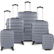 Bubble 5 Piece Luggage Set - Grey