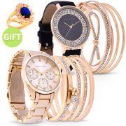 Clara Set of 2 Timepieces & Gift