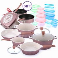 9 Piece Crystal Cookware Set & Gifts