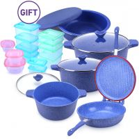 8 Piece Wave Cookware Set & Gifts