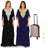 Al Sultana Collection Pack of 2 & Gold Bag