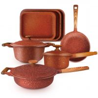 Cefrun Granite Cookware Set