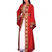 Afnan Red Kaftan