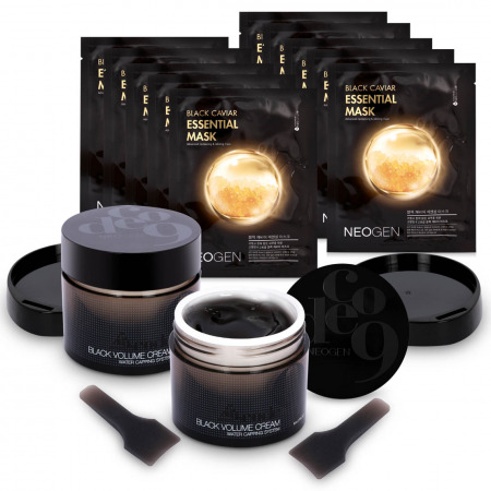 Code9 Black Volume Cream - Buy 2 Get 2 Black Caviar Mask