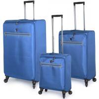 مجموعة حقائب سفر زيرو من هيز 3 قطع - أزرق