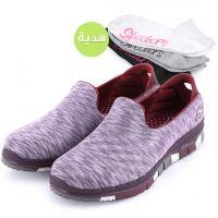 حذاء جو فلكس للسيدات من سكتشرز - بنفسجي مع هدية