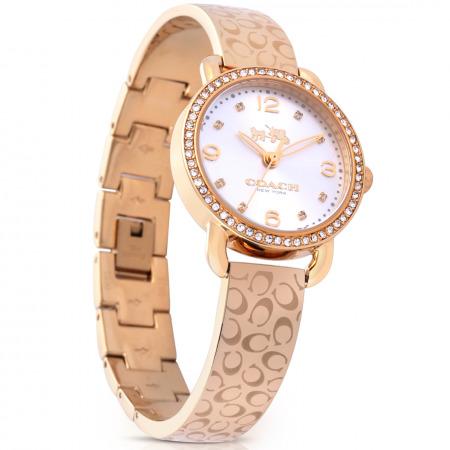 ساعة يد كوتش ديلانسي الذهبية