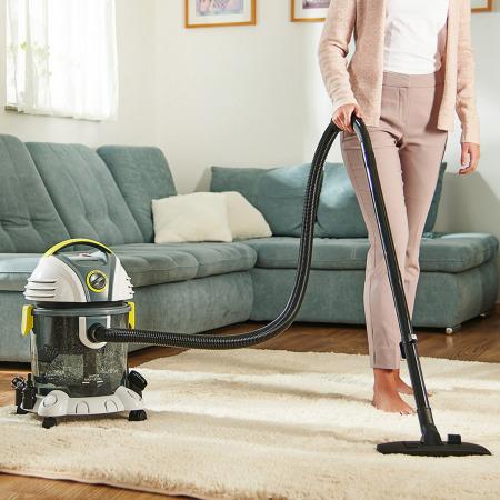 مكنسة فيكتور الكهربائية للتنظيف الجاف والرطب