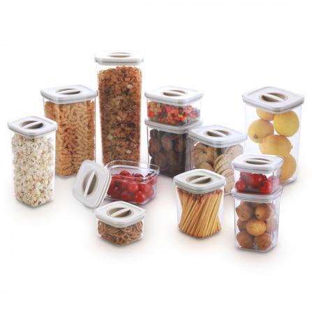 مجموعة حاويات لتخزين المواد الغذائية - 24 قطعة