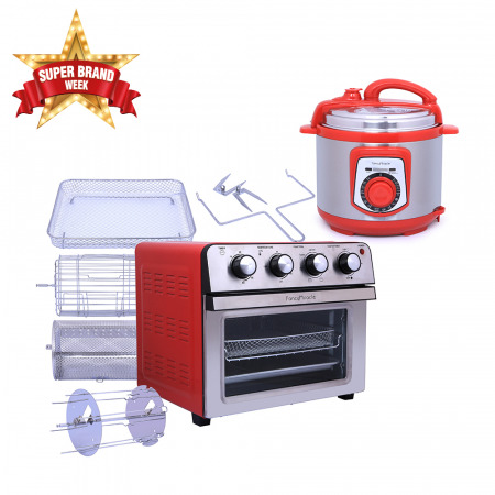 25L Air Fryer Convection Oven & Pressure Cooker