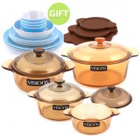 11 Piece Cookware Set with Gift