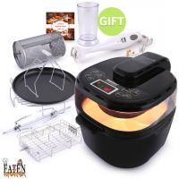 Turbo Airfryer HD15A 12L & Hand Blender