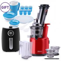 Wide Mouth Slow Juicer JT-2018B & Gifts