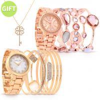 Camelia Set of 2 Timepieces & Gift
