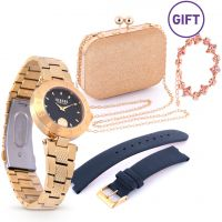 Blue Danube Watch with Evening Bag & Gift