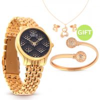 Roses Gold Watch & Gifts