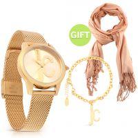 Gold Watch Set & Gift
