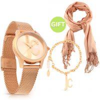 Rose Gold Watch Set & Gift
