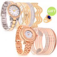 Ivory Set of 2 Timepieces & Gift