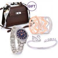Facet Swan Bracelet & Gifts