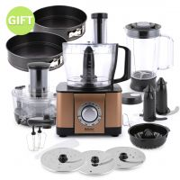 12 in 1 Food Processor copper & Gift