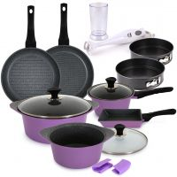 9 Piece Cookware Set & Gifts