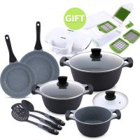 11 PC Cookware Set & Gifts