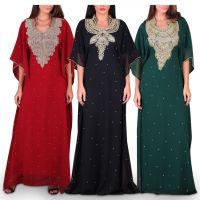 Noora Embellished Jalabiyas - Pack of 3