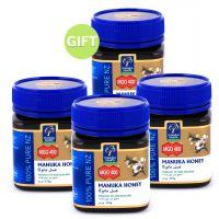 Manuka Honey 400MGO+ 250gr - Buy 3 get 1 Free