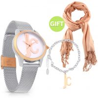 Two Tone Watch Set & Gift