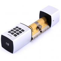 Keyless Touch Smart Lock - Silver