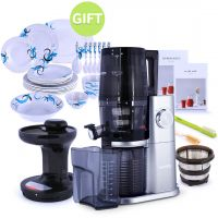 H34 Slow Juicer Platinum & Gift