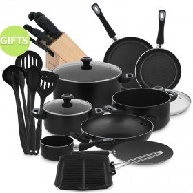 24 Piece Cookware Set Classique with Gifts