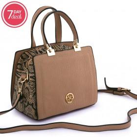 Brown Animal Print Bag