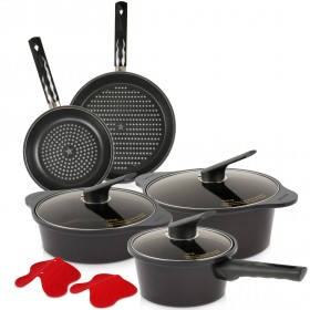 9 Piece Essentials Cookware Set