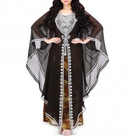 Bent Al Noor Black Jalabiya