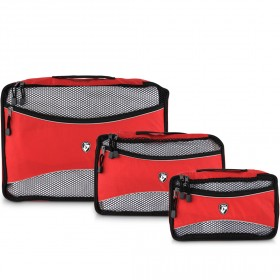 Packing Cubes 3 Piece Set - Red