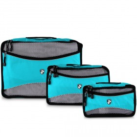Packing Cubes 3 Piece Set - Turquoise