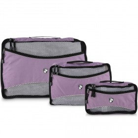 Packing Cubes 3 Piece Set - Lilac