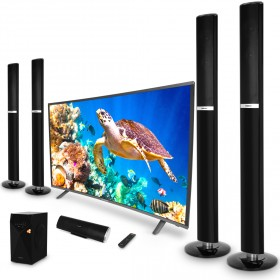 """50"""" Curved Smart TV with Home Theatre System"""