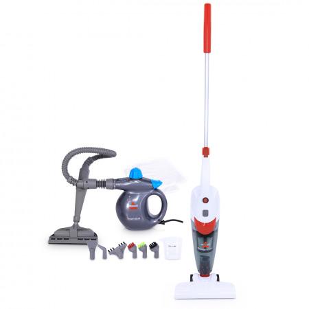 Featherweight 2-in-1 Vacuum Cleaner & Steam Shot