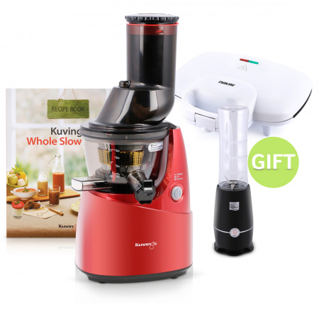 Slow Juicer Red & Gifts